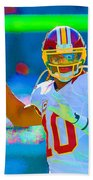 Robert Griffin IIi   Rg 3 Beach Towel