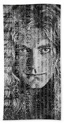 Robert Plant - Led Zeppelin Beach Towel