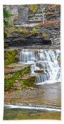 Robert Treman Waterfall Beach Towel