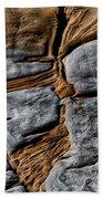 Rock Art Beach Towel