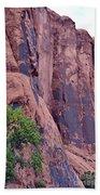 Rock Climbing Beach Towel