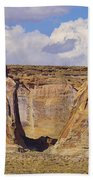 Rock Formations At Capital Reef Beach Towel