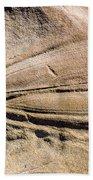 Rock Patterns Beach Sheet