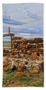 Rock Hills Prairie  Beach Towel