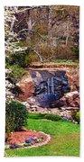Rock Quarry Garden Beach Towel