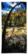 Rock Slide Beach Towel