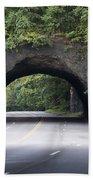 Rock Tunnel On Kelly Drive Beach Towel