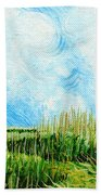 Rockefeller Coastal Marsh Louisiana  Beach Towel