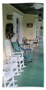 Rockers On The Porch Beach Towel