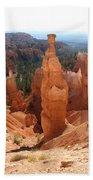 Rockformation  Bryce Canyon Beach Towel