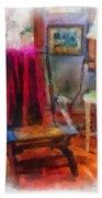 Rocking Chair Photo Art Beach Towel