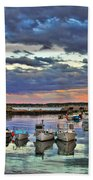 Rockport Dusk Beach Towel