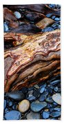 Rocks And Roots Beach Towel