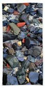 Rocks And Stones Beach Towel