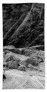 Rocks At Pt. Lobos Beach Towel
