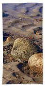 Rocks In A Row Beach Towel