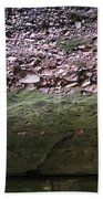 Rocks - Parfreys Glen - Wisconsin Beach Towel