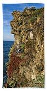 Rocky Cinque Terre Beach Towel