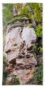 Rocky Cliff Wildcat Den Muscatine Ia 1 Beach Towel
