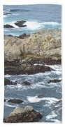 Rocky Cove Detail Beach Towel