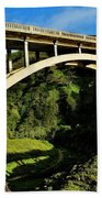 Rocky Creek Bridge Beach Towel