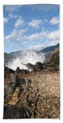 Rocky Ledges Beach Towel