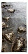 Rocky Beach Towel by Margie Hurwich