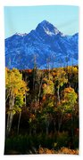 Rocky Mountain Fall Beach Towel