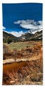 Rocky Mountain Meadows Beach Towel