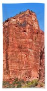 Rocky Mountains Of Zion Beach Towel