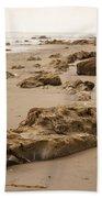 Rocky Shore 2 Beach Towel