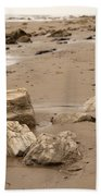 Rocky Shore Beach Towel