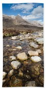 Rocky Stream From Beinn Eighe Beach Towel