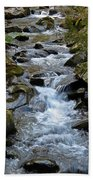 Rocky Stream Beach Towel