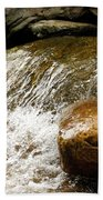 Rocky Waters Beach Towel
