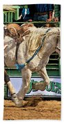 Rodeo Action Beach Towel