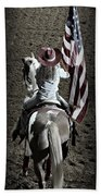 Rodeo America Beach Towel
