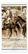 Rodeo Grandentry Beach Towel