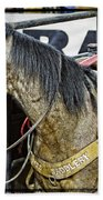 Rodeo Horse Two Beach Towel