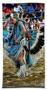Rodeo Indian Dance Beach Towel