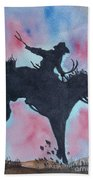 Rodeo No 1 Beach Towel