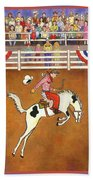 Rodeo One Beach Towel