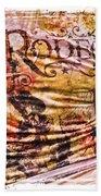 Rodeo T-shirt Beach Towel