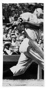 Roger Maris Hits 52nd Home Run Beach Towel