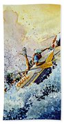 Rollin' Down The River Beach Towel