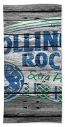 Rolling Rock Beach Towel