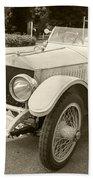 Rolls Royce Silver Ghost  Beach Towel