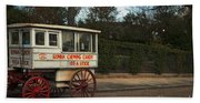 Roman Candy Wagon New Orleans Beach Towel