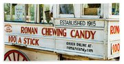 Roman Chewing Candy Nola Beach Towel