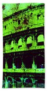 Roman Colosseum Beach Towel